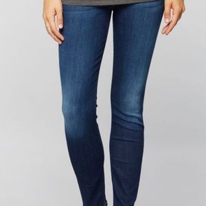 maternity jeans 7 For All Mankind Ankle Skinny
